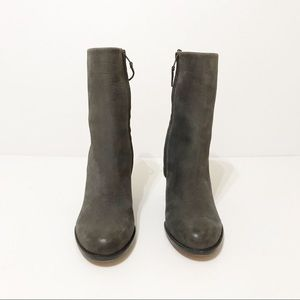 Sam Edelman Shoes - Sam Edelman Suede Reyes Gray Bootie Size 9.5